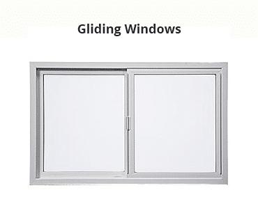 Gliding Windows Style